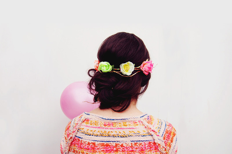 DIY – Headband fleuri
