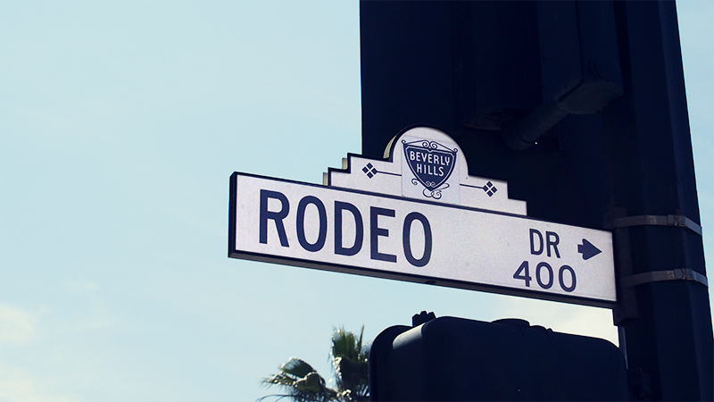 Down Rodeo Drive !