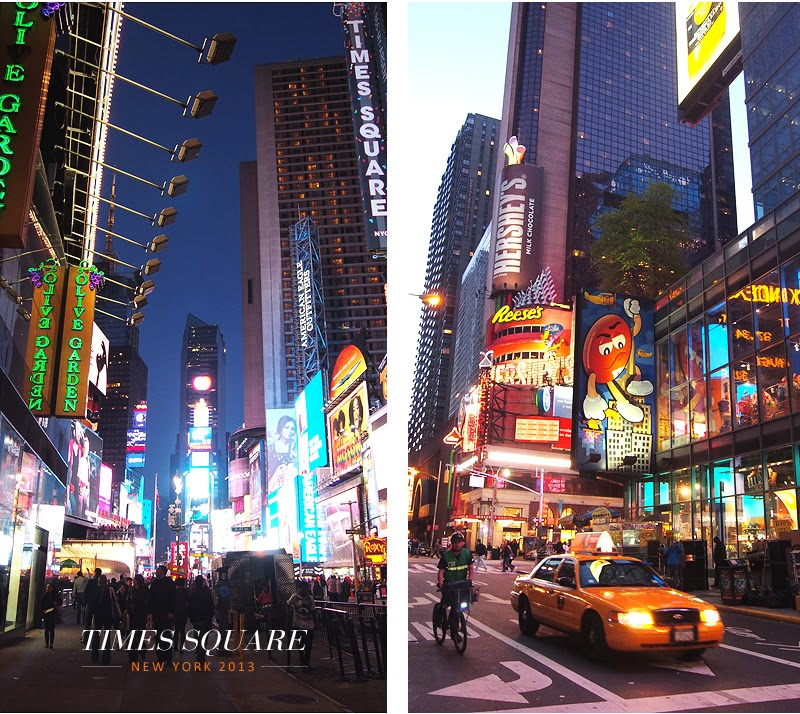 New York ! L'aventure commence à Times Square