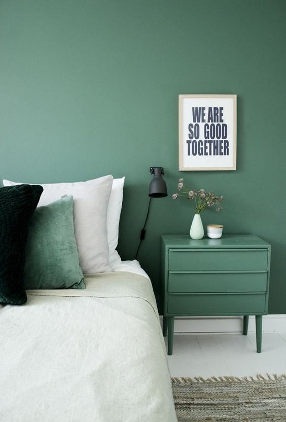 Decoration Une Chambre Verte Chocodisco